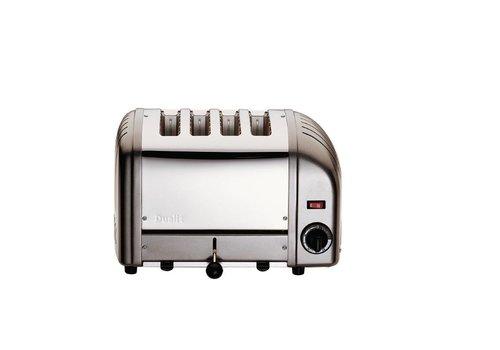 Dualit Toaster Grau 4 Ablagefächer
