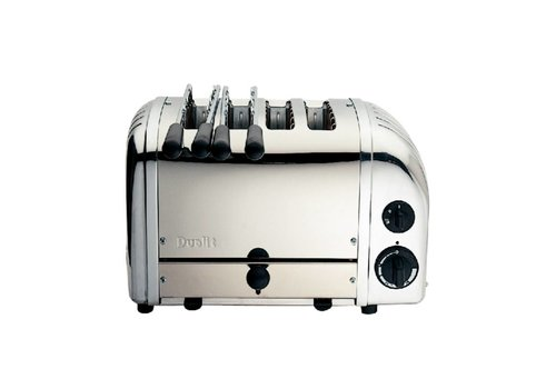Dualit Dualit 2 x 2 combi toaster RVS | 4 sleuven