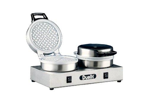 Dualit Professional Double Waffle Iron (Round Waffles)