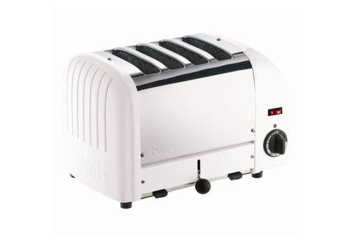 Dualit Toaster aus Edelstahl | 4 Schnitte