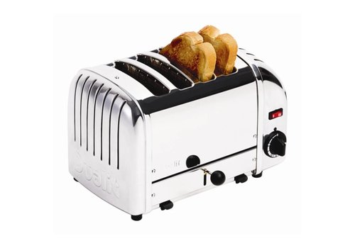 Dualit Bread toaster Stainless steel | 4 cuts