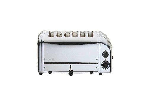 Dualit Dualit Chrome toaster RVS | 6 sneden