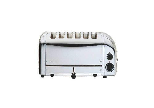 Dualit Dualit Chrome toaster stainless steel | 6 cuts