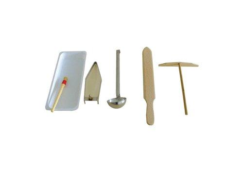Krampouz Accessoires set voor crêpeapparaten