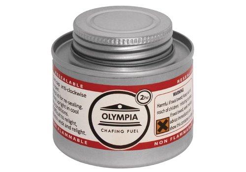 Olympia Chafing Dish Kraftstoff | 3 verschiedene Brenndauer