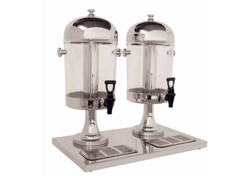 Olympia Deluxe Juice Dispenser St/St Double Head