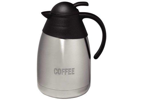 Olympia Isolierkanne aus Edelstahl 1,5 Ltr. COFFEE