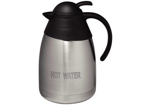 Olympia Vacuum Jug St/St Domed Lid - 1.5Ltr 'HOT WATER'