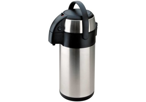 Olympia Thermos Pump jug | Stainless steel | 3Ltr