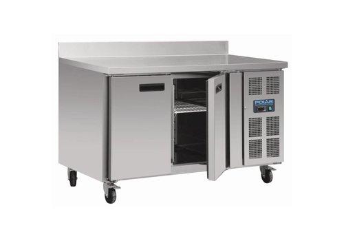 Polar Freezer Workbench 2 doors | 136x70x96 (h)