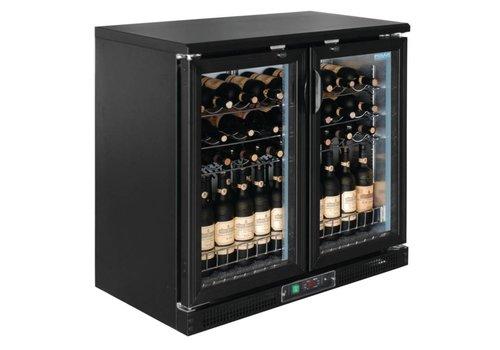 Polar Wijn Koeler 2 Klapdeuren - 56 flessen