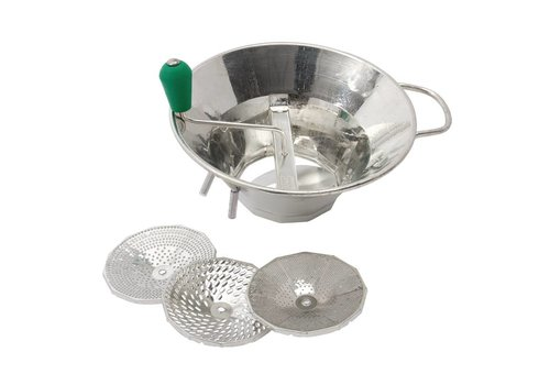 HorecaTraders Tinned Vegetable Strainer 31 cm
