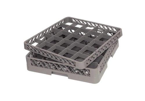 Vogue Dishwashing basket 50x50 cm for glasses 25 glasses