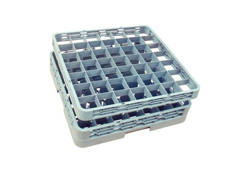Vogue Dishwashing basket 50x50 cm for glasses 49 glasses