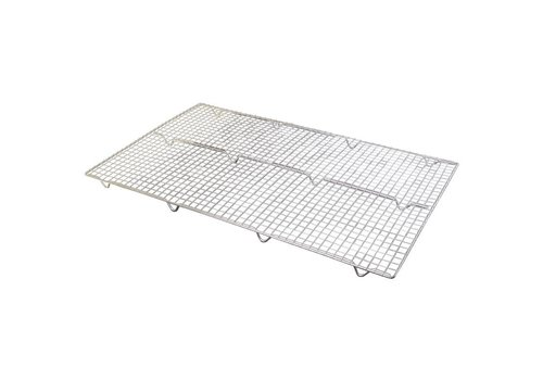 Vogue Cooling grill stainless steel | 63.5 x 40.5 cm