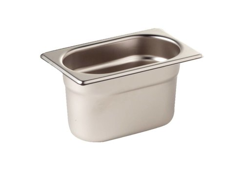 Vogue Stainless steel GN container 1/9 | 3 formats
