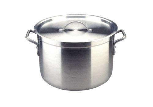 Vogue Aluminum cooking pot medium | 4 Dimensions