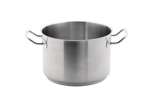 Vogue Stainless steel saucepan 4 Formats