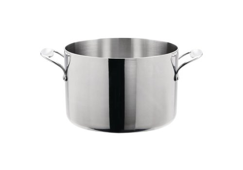 Vogue Stainless steel saucepan 2 formats