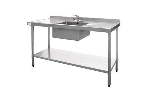 Vogue Inox Washbasin | Washbasin center | 150x60x90 cm