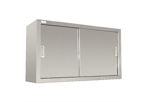 Vogue Stainless steel cupboard wall model 60x120cm