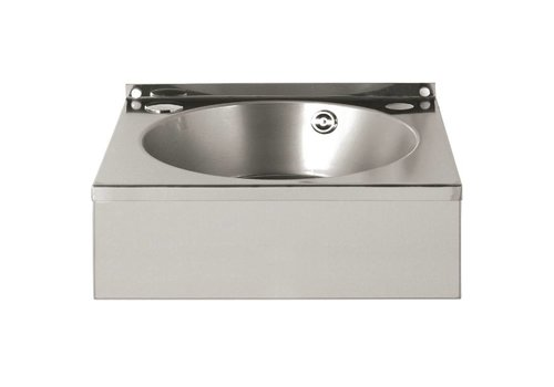 Vogue Stainless steel hand wash basin 333 (D) x 384 (W) x 138 (H) mm