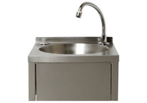 Vogue Stainless steel hands-free sink