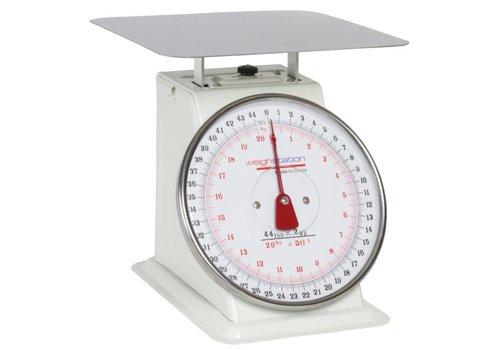 HorecaTraders Horeca Weegschaal   Vierkant  /10kg /20kg