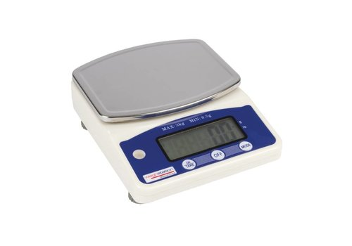 HorecaTraders Digitalwaagen | 3 kg pro 0,5 Gramm immer bequem !!