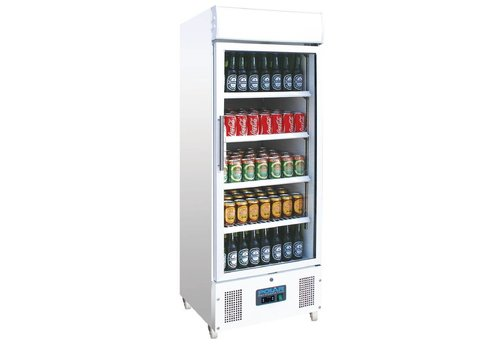 Polar Refrigerated display case with lock | 368L