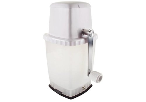 HorecaTraders Ice crushing vacuum base | white