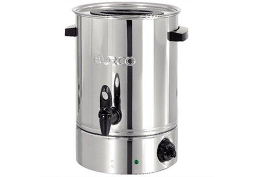 HorecaTraders RVS Glühwein Kessel / Hot Wasserspender 10 Liter