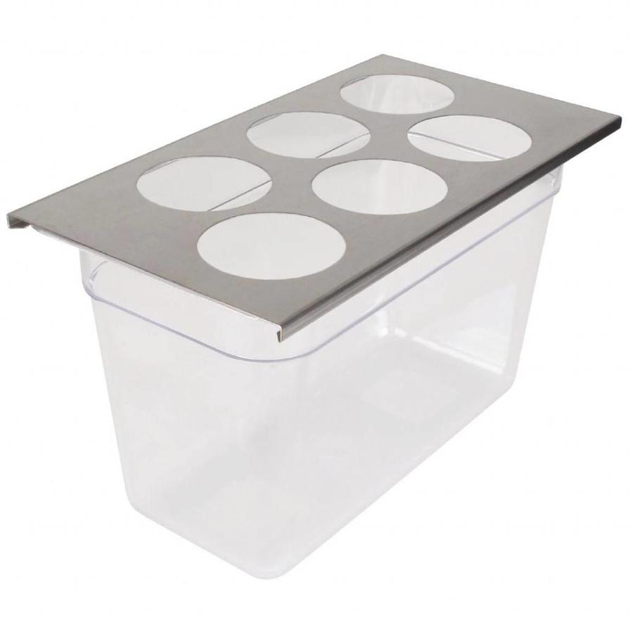 FIFO dispenser organizes 6-gaats GN 1/3