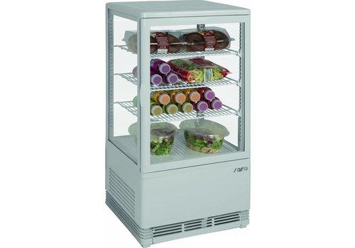 Saro Mini-Glaskühlschrank mit 3 Gittern