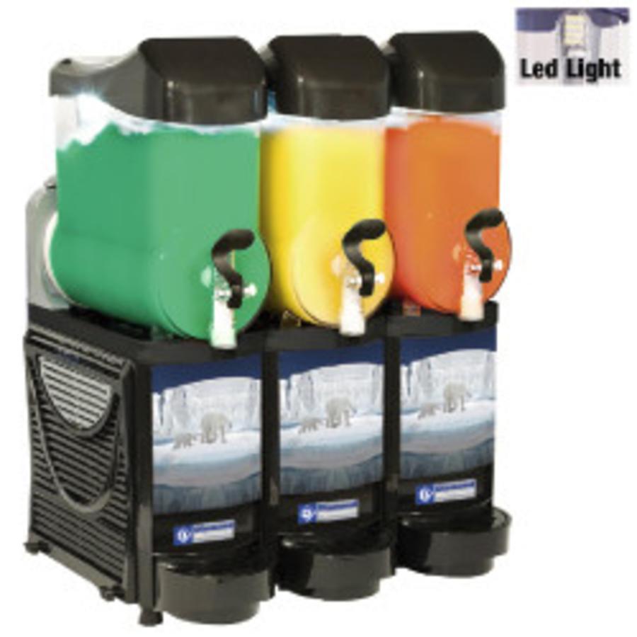 Slush machine 3 x 10 Liter