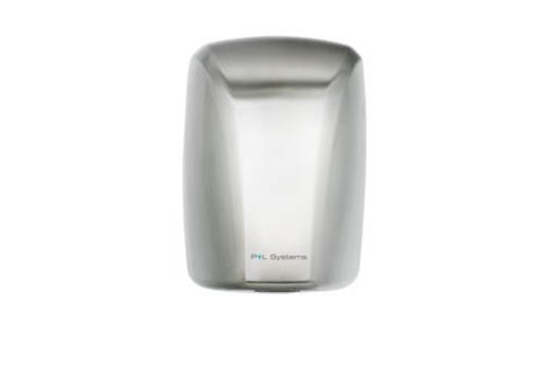 P+L Systems Hand Dryer - 1600W - Brushed Stainless Steel