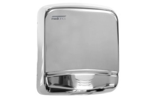Mediclinics Polished stainless steel hand dryer Optima M99AC