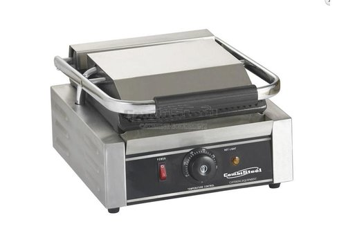 Combisteel Single Contact Grill - Ribbed