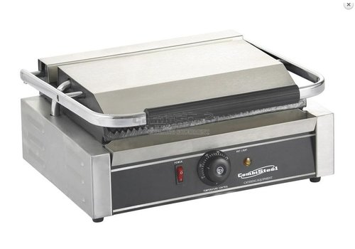 Combisteel Contact Panini Grill - Ribbed Grill Plates