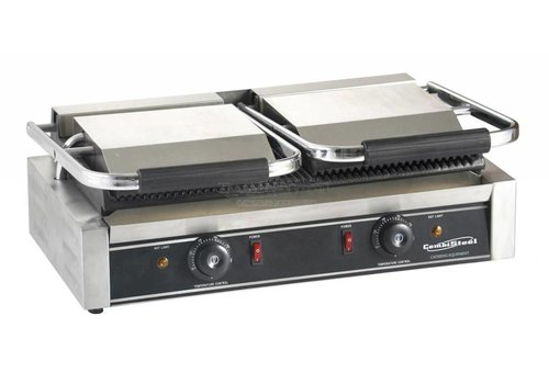 Combisteel Contact Grill - Double - Grooved - BEST SELLER!