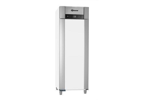 Gram RVS dieptekoeling enkledeurs | 2/1 GN | 610 liter