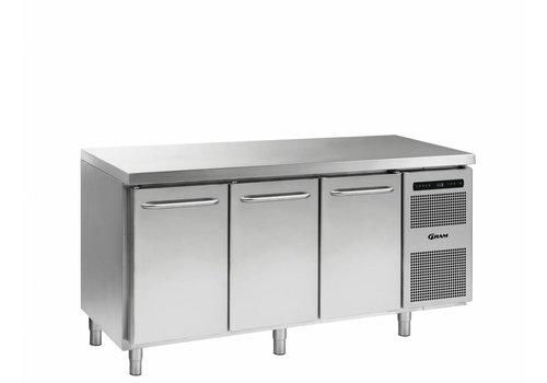 Gram Gram Gastro Freezer Workbench with 3 doors | 506 Liter