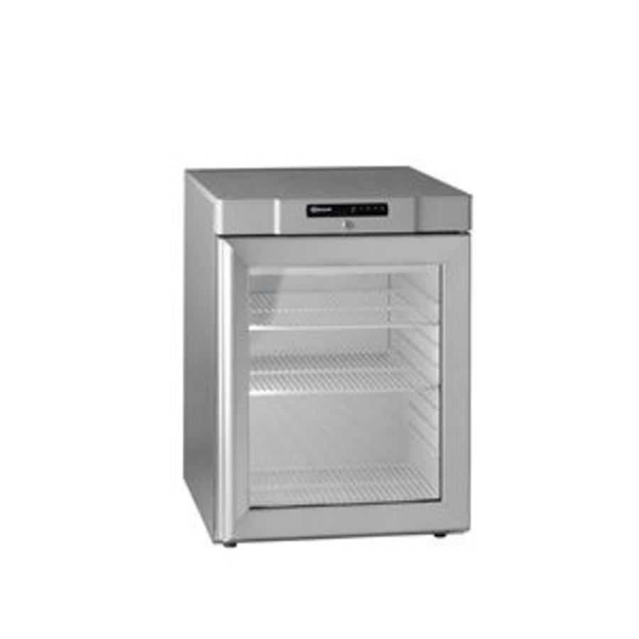 Schon Gram Unterbau Kühlschrank Aus Edelstahl Mit Glastür 125 Liter