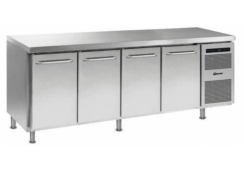 Gram Gram Gastro Freezer Workbench with 4 doors | 668 Liter