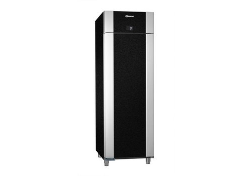 Gram Stainless steel deep cool black 2/1 GN | 610 liters