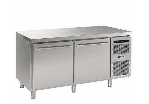 Gram Gram Gastro Freezer Workbench with 2 doors | 2 / 1GN | 586 Liter