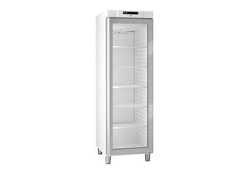 Gram Fridge White With Glass Door 2 / 1GN | 346 liters