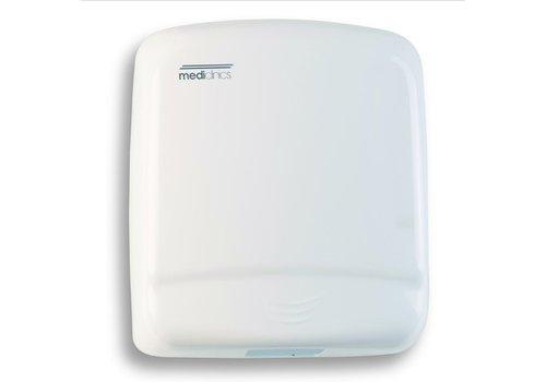 Mediclinics Hand Dryer White Steel Optima M99A - 1640W