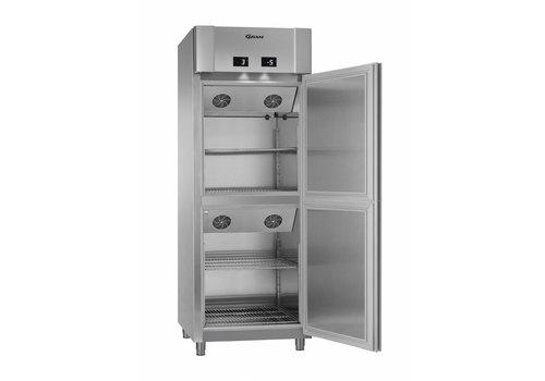 Gram Gram Eco twin combi koelkast/ dieptekoeler | 286 Liter