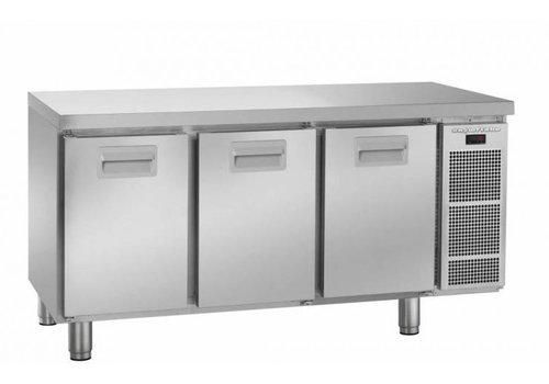 Gram Gram snowflake koelwerkbank | 3 deurs | 364 Liter
